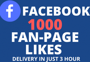 BuY 1000+ FaceBook Fan-Page Likes 100% Real and NoN-Drop
