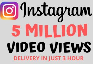I Will Give You 500,000 Instagram Views | 100% Real and NoN-Drop🔥🔥