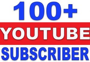 100+ YouTube SubsCribers | NoN-Drop | Fast Delivery