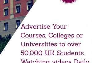 10,000 students Promote your Courses, Colleges, Universities or Educational Materials