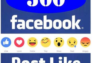 Super Fast 500+ Facebook Post Photo, Video, Status Likes