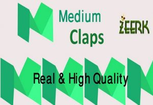 Give You 500 Medium Claps only $5