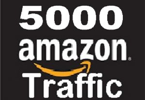 drive 5000 Quality SEO Traffic to AMAZON ecommerce shop listing Product