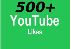 Increase 500+ Real Video Likes Promotion Worldwide Users