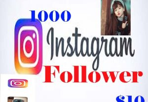 1000+ real Instagram follower very cheap rate