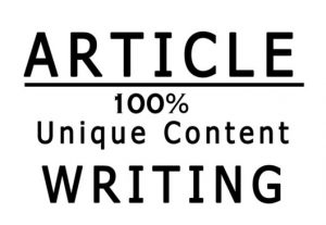 I will write 1000 words SEO friendly article in 24 hours