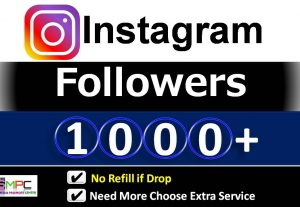 Get Instant 1000+ Instagram Followers, Real Active users