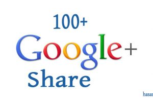 I will add Google 100 Post Share