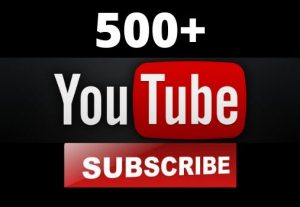 500+ YouTube Subscribers HQ Non Drop Guarantee – Instant Start