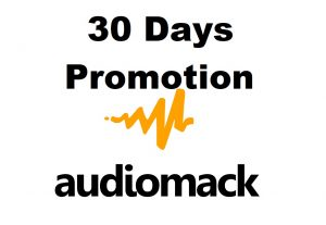 unlimited audiomack play for a month