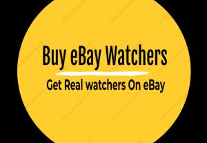 Buy eBay Watchers |Watch list |View count |Feedback Reviews