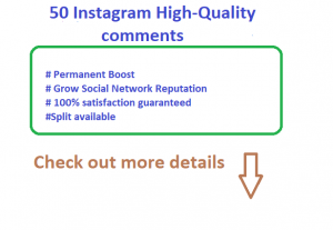 A Do Genuine Promotion 50 Instagram High-Quality English Speaking countries profiles Random Post Comments