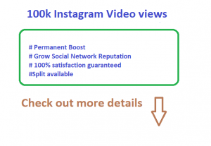 Viral Promotions 100k Instagram High Quality Post Video views Non Drop Guarantee LifeTime license
