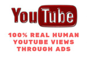 1000+ Youtube Ads Views From USA 100% Real Human