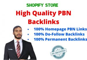 10 High PA DA TF CF Homepage PBN Dofollow Backlinks For your Ecommerce Store
