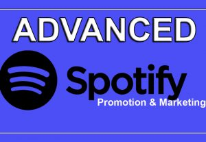 I will do fast and organic Spotify Music or Track promotion for 5000+ plays