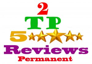 I will provide 2 TP permanent review & for your website