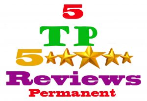 I will provide 5  TP permanent review & for your website