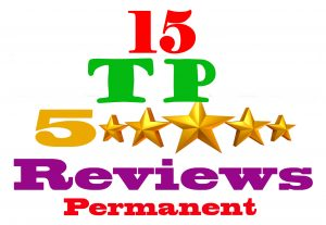 I will provide 15 TP permanent review & for your website