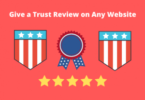 """I will give one """"permanent"""" review on any website with your requirements."""