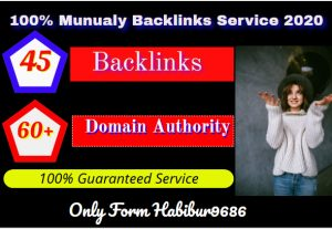Limited Time- 45 Backlinks From High DA-60+ Domains-Skyrocket Your Google Ranking Now