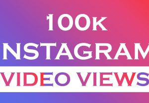 I will Provide 100K Instagram Views Instantly