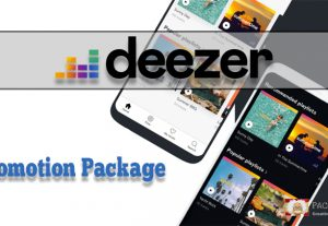 Deezer Promotion Package, likes, followers and streams