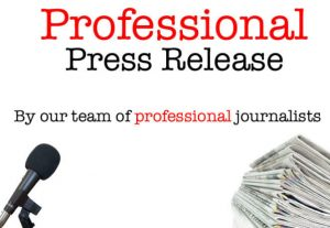 Write and Distribute your Press Release to Top Websites