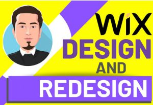 I will design wix website and redesign wix website professionally