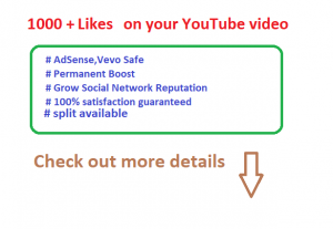 get instant 1000 YouTube likes