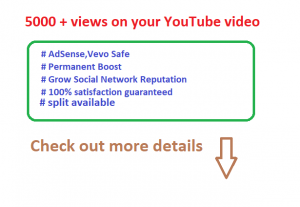 Add 5000 High retention Real Human YouTube views