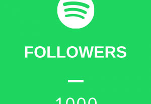 Get 1,000 High Quality Spotify Followers