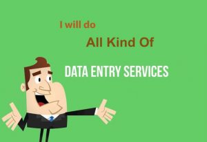 I will Do Data Entry, Data Analysis, Web Research, Admin Support