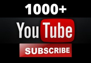 1000+ YouTube Subscribers HQ Non Drop Guarantee – Instant Start