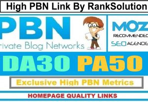 6 Manual HIGH PA-50+, DA-30+ Dofollow Homepage PBN Links