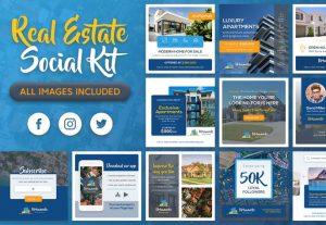 I will create an amazing social media kit design