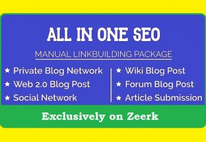 All in One SEO Promotion Package to Boost Ranking