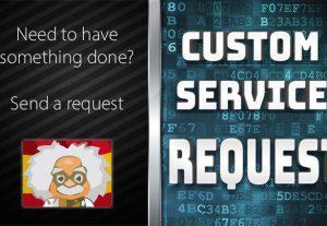 CUSTOM ORDER REQUEST – DO NOT ORDER!