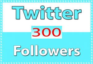 Twitter 300+ Followers only for $ 3