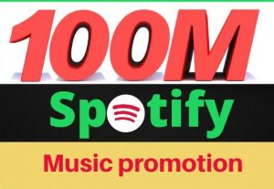 I will promote your Spotify Music to 100 million people(best offer).