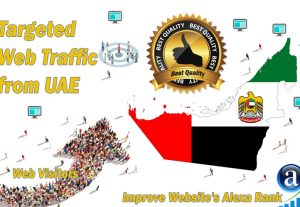 UAE, United Arab Emirates web visitors real targeted high-quality web traffic from UAE, United Arab Emirates