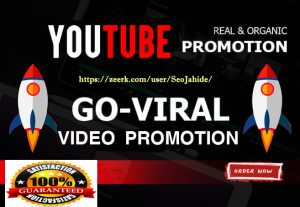 Promote Your YouTube Video by 10,000  Viewers