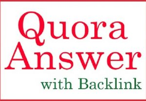 HQ 10 Quora Answer Include Your Content with Backlink