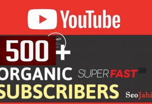 I will Add 500+ YouTube Real Non Drop Follower/ Subscriber Supper Fast