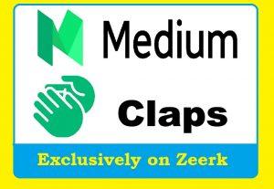 Get 100+ Medium Claps to your Medium Post in 24 Hours