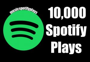 10,000 Real Spotify Plays Music Advertisement promotion