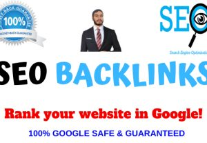 Build High Domain Authority SEO Backlinks For Rank your Website in Google