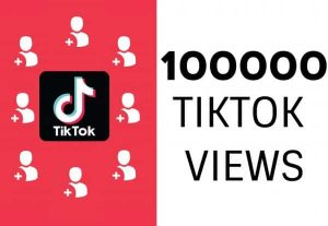 I will give 100K Organic TikTok Views