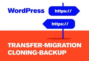 Do wordpress backup cloning migration