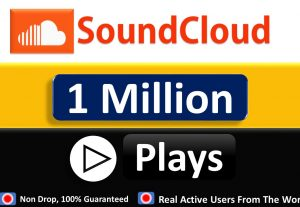 10,00000+ (1 Million) SOUNDCLOUD GLOBAL WORLD PROMOTION, Play in Your Track  Non Drop Guaranteed